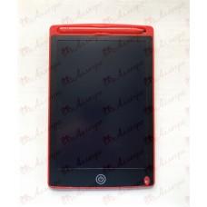 Планшет LCD 8,5 размер 15*22 (одноцветный), цвет корпуса Красный