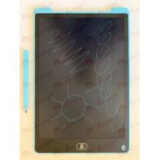 Планшет LCD 12 размер 18*28 (одноцветный), цвет корпуса Синий