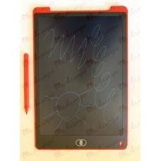Планшет LCD 12 размер 18*28 (одноцветный), цвет корпуса Красный