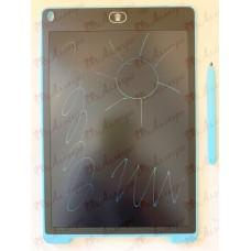 Планшет LCD 12 размер 18*28 (разноцветный), цвет корпуса Синий