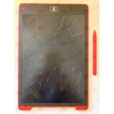 Планшет LCD 12 размер 18*28 (разноцветный), цвет корпуса Красный