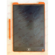 Планшет LCD 12 размер 18*28 (одноцветный), цвет корпуса Оранжевый