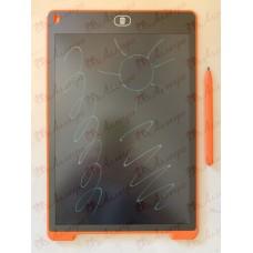 Планшет LCD 12 размер 18*28 (разноцветный), цвет корпуса Оранжевый